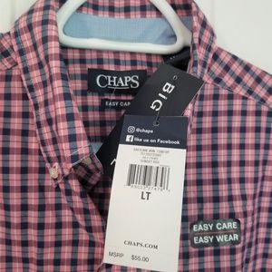 Chaps Shirts - Chaps Button Down NWT LT Multicolored Check